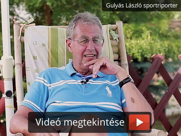 Gulyás László sportriporter